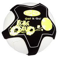 Get & Go Football ferdighetstrener svart og gul