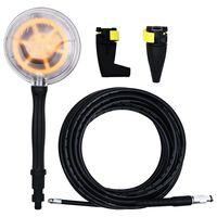 vidaXL Tilbehørssett 4 deler til 135/165 bar høytrykkspylere