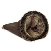 Designet by Lotte Kattesekk for hvile og lek FAISCA brun
