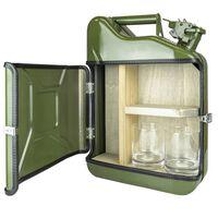 Minibar, Vintage Bensindunk - Grønn