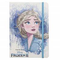 Frozen 2, Notatbok med Glitrende Detaljer - Elsa