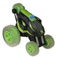 Happy People Radiostyrt stuntbil Power Tumbler grønn og svart