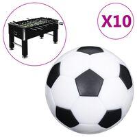 vidaXL Fotballbordballer 10 stk 32 mm ABS