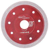 vidaXL Diamantkutteskive med hull stål 115 mm