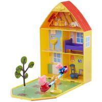 Peppa Gris / Peppa Pig, hus og hage lekesett