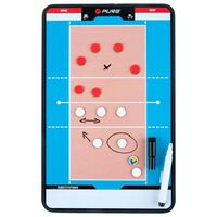 Pure2Improve Dobbeltsidet volleyball-trenerbrett 35x22 cm P2I100690