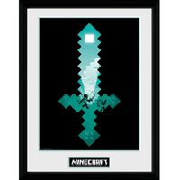 Minecraft, Tavle - Diamond Sword