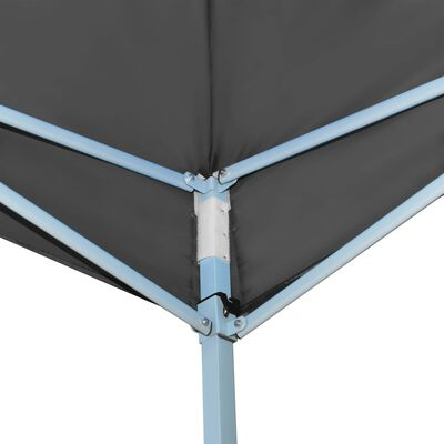 vidaXL Foldbart popup festtelt 3x9 m antrasitt