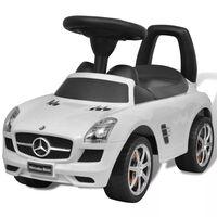 Hvit Mercedes Benz Barnebil