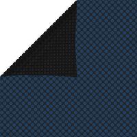 vidaXL Flytende solarduk til basseng PE 1000x600 cm svart og blå