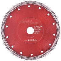 vidaXL Diamantkutteskive med hull stål 180 mm