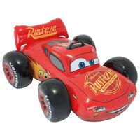 Intex Oppblåsbar bil rød 84x109x41 cm
