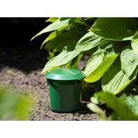 Nature Sneglefellesett 2 stk 11x11,5 cm grønn