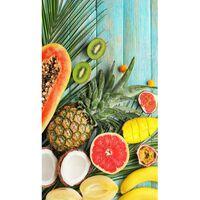 Good Morning Strandhåndkle FRESH FRUITS 100x180cm flerfarget