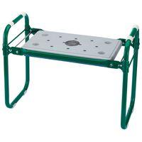 Draper Tools Foldbart hagesete/kneler jern grønn 64970