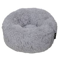"DISTRICT70 Pet Bed ""FUZZ"" Light Grey M"