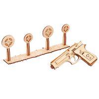 Wood Trick Modellsett skala tre shotgun