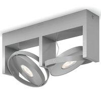 Philips Spotlys Particon 2x4,5 W grå 531524816