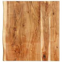 vidaXL Topplate til baderomsmøbler heltre akasie 60x55x3,8 cm