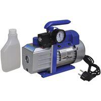 vidaXL Vakuumpumpe  ett-trinss med trykkmåler 71 L/min