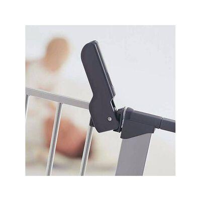 BabyDan Sikkerhetsgrind Premier hvit 73-93 cm metall