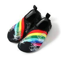 Slip-on sportssko for vann og yoga, størrelse 46/47 - Rainbow