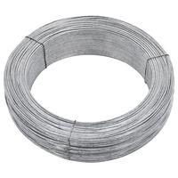 vidaXL Gjerdetråd 250 m 2 mm stål