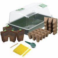 Nature Minidrivhus startpakke 200 deler