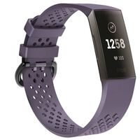 Fitbit Charge 3 armbånd - lilla - S
