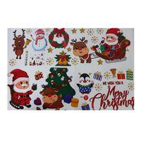 Klistremerker Julemotiv 2-pakning