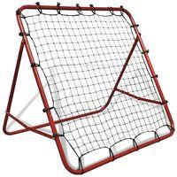 Justerbar Fotball Returnett Rebounder 100 x 100 cm