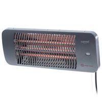 Sunred Terrassevarmer Lugo 2000 W kvarts grå
