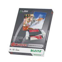 Leitz Lamineringslommer ILAM 175 mikroner A4 100 stk