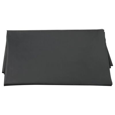 vidaXL Underlag til sandkasse svart 120x110 cm