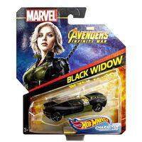 Marvel Avengers, Hot Wheels - Black Widow