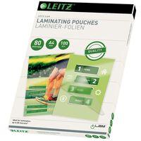 Leitz Lamineringslommer 80 mikroner A4 100 stk