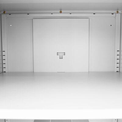 vidaXL Salskap 60x60x140 cm