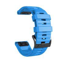 Armbånd til Fenix 5/6, Forerunner 945, Quatix 5 og andre lyse blå