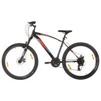 vidaXL Terrengsykkel 21 trinn 29-tommers hjul 48 cm ramme svart