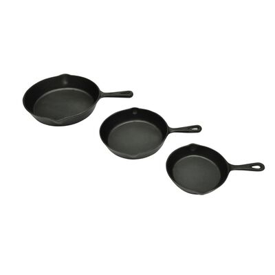 Gryte- og pannesett (3stk)
