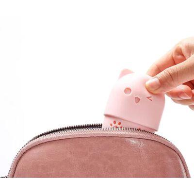 Oppbevaringsboks For Sminkesvamp Rosa,