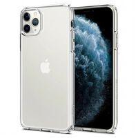 2x iPhone 11 Mobildeksel -  Gjennomsiktig 6.1 tommer