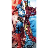 Marvel, Strandhåndkle - Captain America/Iron Man