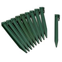 Nature Hageankerplugger 10 stk grønn