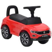 vidaXL Gåbil Volkswagen T-Roc rød