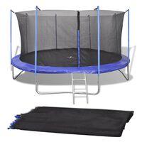 vidaXL Sikkerhetsnett for 3,96 m rund trampoline