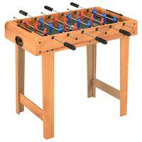vidaXL Fotballbord mini 69x37x62 cm lønnetre