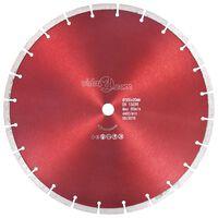 vidaXL Diamantkutteskive stål 350 mm
