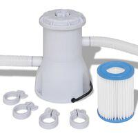 Filterpumpe for svømmebasseng 800 gal/t