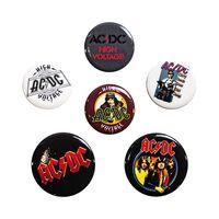 AC/DC, 6x Pins